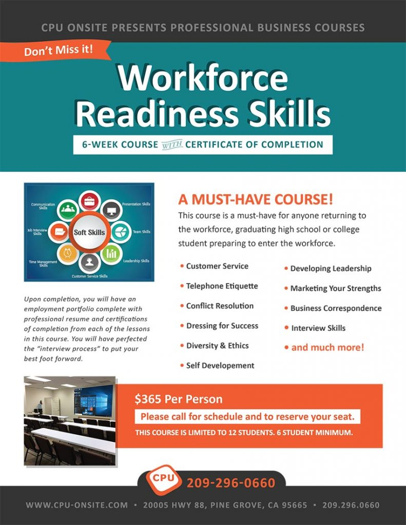 Workforce Skills Cource
