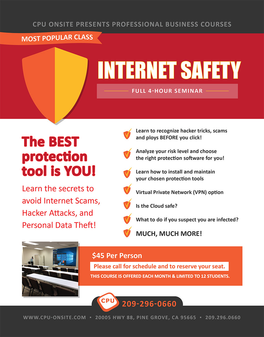 CPU Onsite Internet Safety Seminar