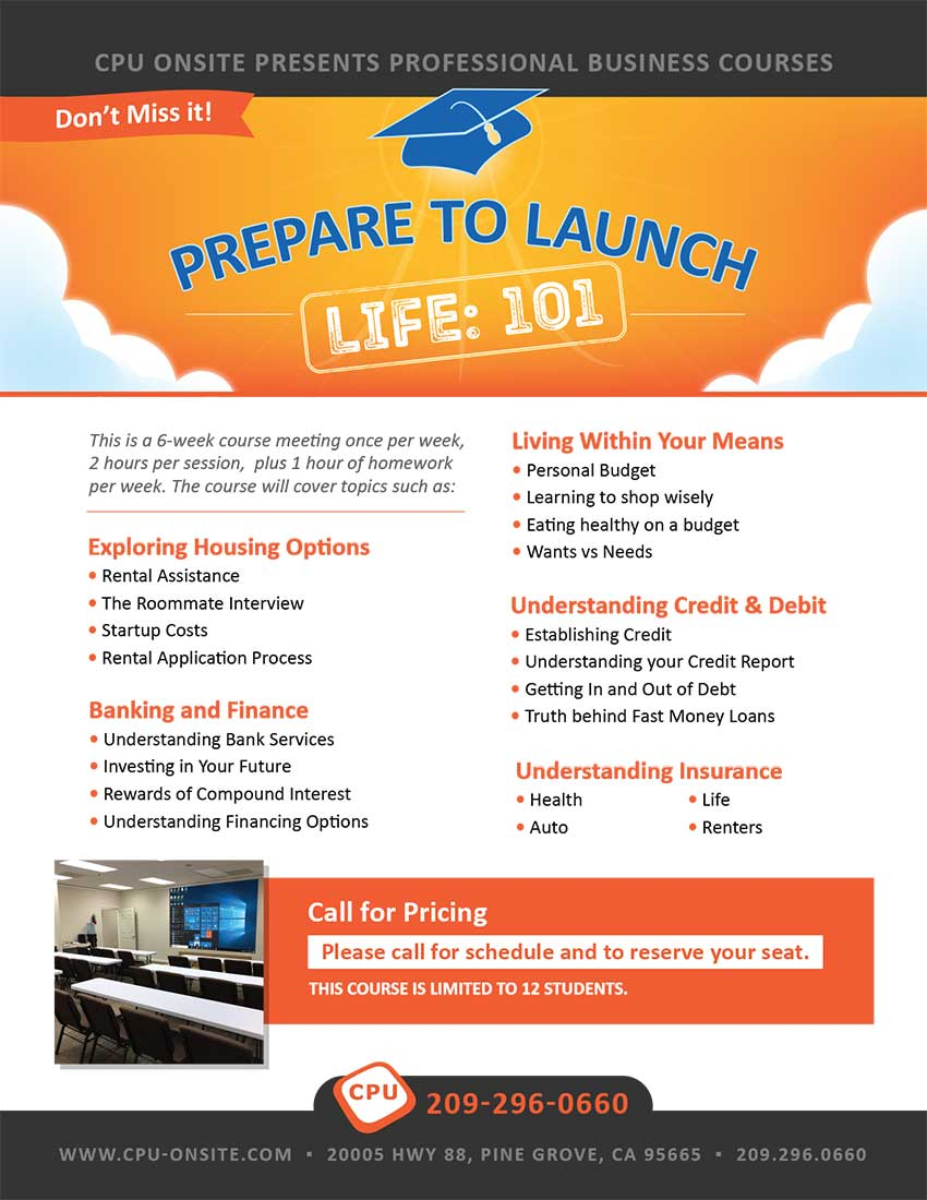 Prepare to Launch - Life 101