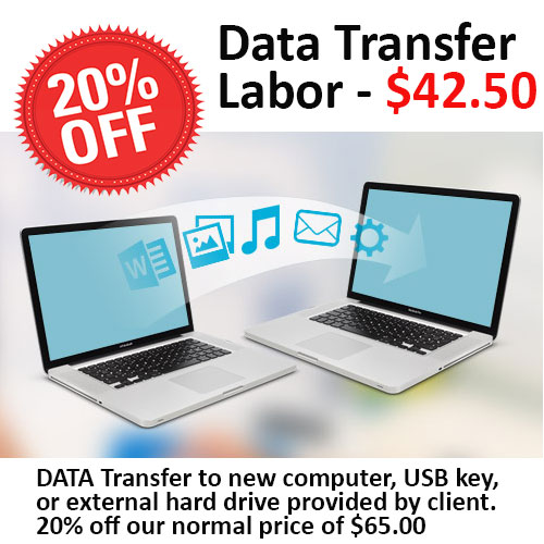 Data Transfer special discount