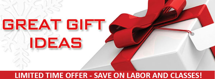 Holiday discounts on computer labor and classes