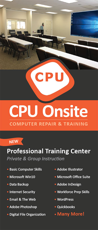 CPU training class brochure cover